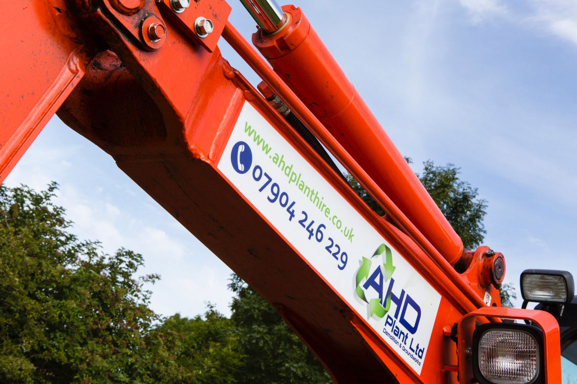 AHD Plant Hire Vehicle