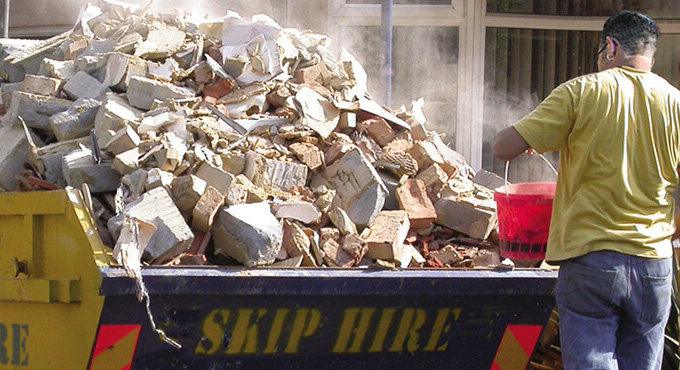 skip recycle