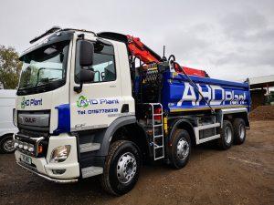 AHD lorry grab hire nottingham mansfield