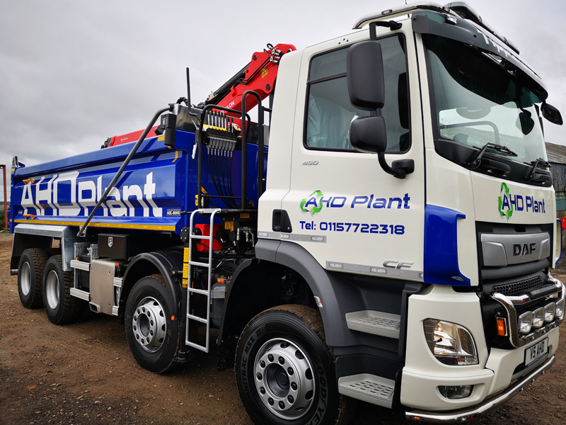 AHD Grab Hire - Nottingham, Mansfield, Derby, Chesterfield